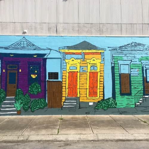 Saegan Swanson - Art and Street Murals
