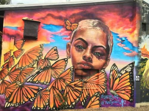 Julia Morgan (Aerose Art) - Murals and Art
