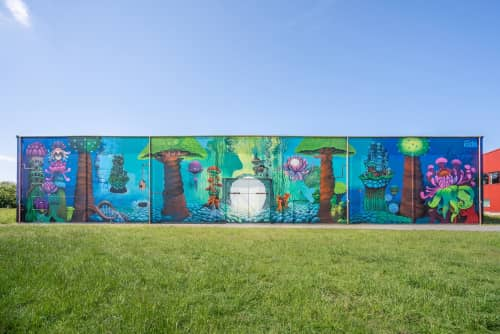 Art by Kozica - Murals and Street Murals