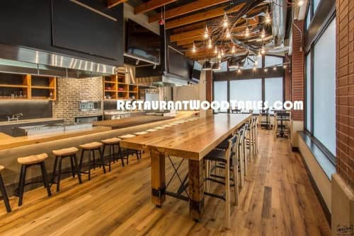 Restaurant Wood Tables - Tables and Furniture