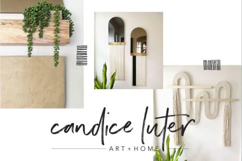 Candice Luter Art & Interiors - Wall Hangings and Macrame Wall Hanging