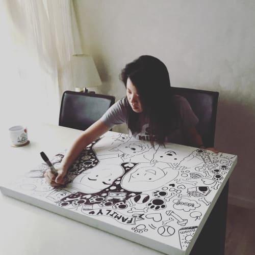 Stephanie Raphaela Ho - Murals and Art