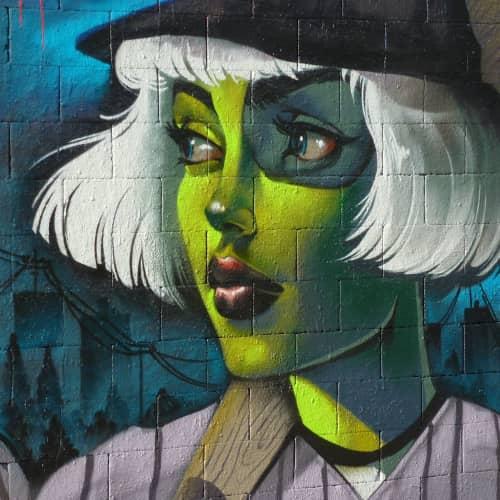 TURKESA @turkesart - Street Murals and Public Art