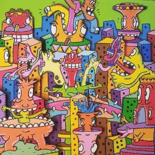 AL Runt - Art and Street Murals