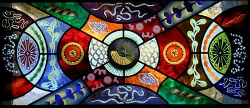 Kate Gakenheimer Stained Glass - Art