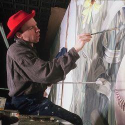 Thomas Melvin Painting Studio