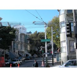 Oak & Divisadero, Haight-Ashbury