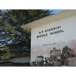 A.P. Giannini Middle School, San Francisco, CA