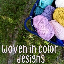 Woven in Color Designs