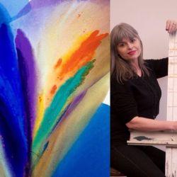 Barbara Januszkiewicz, Colorfield artist