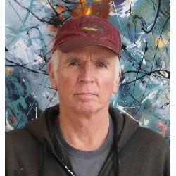 DAVID SKILLICORN - American Abstract Painter