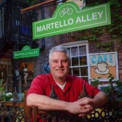 David Dossett of Martello Alley