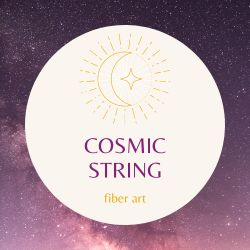 Cosmic String Fiber Art
