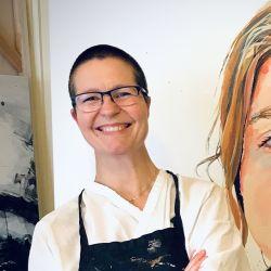 Kim Hart. Portraitist.