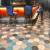 """Tiles by clé tile at Fisherman's Grotto, San Francisco - Blue Hex Medley 8"""" Encaustic Cement Tiles"""
