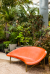 Furniture by Galanter & Jones seen at Flora Grubb Gardens, San Francisco - Helios Heated Outdoor Lounge