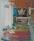 Paintings by Rupert Garcia seen at Zuckerberg San Francisco General Hospital and Trauma Center, San Francisco - Nature of Medicine - Floor Art