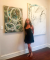 Paintings by Rose M Barron at Kibbee Gallery, Atlanta - Undoings-Existents