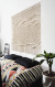 Macrame Wall Hanging by Ranran Design by Belen Senra seen at New York , NY Private Residence, New York - Macrame Headboard