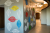 """Wall Treatments by ANTLRE - Hannah Sitzer seen at Google Events Center, Redwood City - """"Leaves"""""""