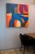 "Paintings by ANTLRE - Hannah Sitzer seen at Google RWC SEA6, Redwood City - ""Santa Cruz"""