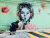 Murals by Elsa Jeandedieu Studio at Sai Ying Pun - Portrait of a Girl