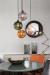 Pendants by Marie Burgos Design at Private Residence, New York - BALLROOM AMBER PENDANT LIGHT